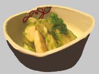 筍と独活の木の芽味噌和え