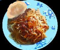 ピリ辛トマトスパゲティ