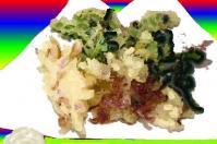 シデコブシの天ぷら