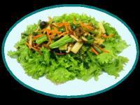 ネギ味噌甘ピリ辛野菜