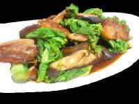 菜の花と豚バラ肉