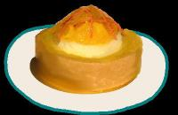 ・オレンジのタルト