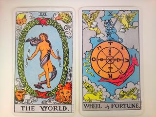 四大元素/世界&運命の輪