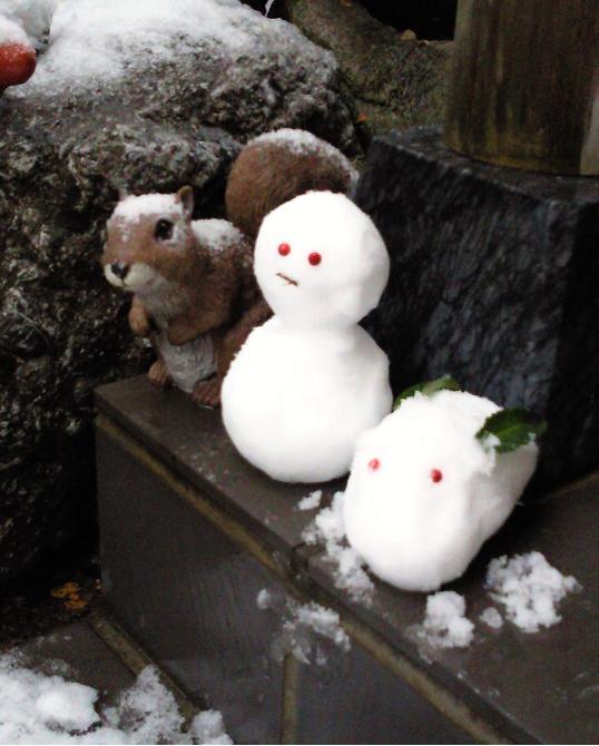 130114 雪だるま