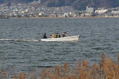 諏訪湖公魚釣り (2)