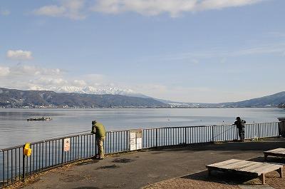 諏訪湖公魚釣り (5)