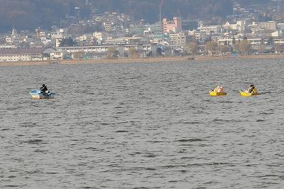諏訪湖公魚釣り (7)
