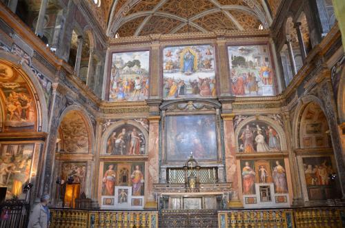 サン・マウリッツィオ教会 内部