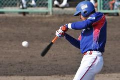 4_上野選手_3回1点タイムリー