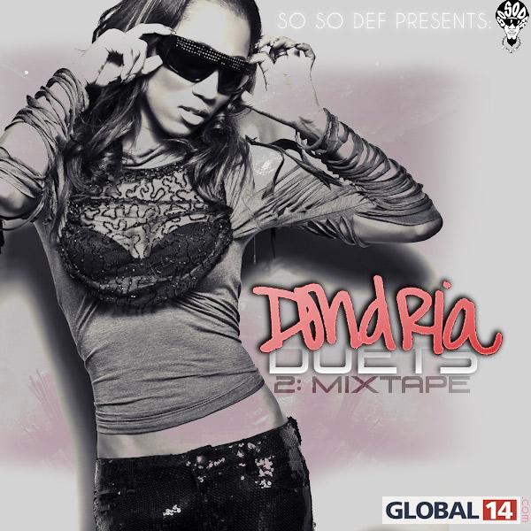 Dondria duets mixtape-front-2