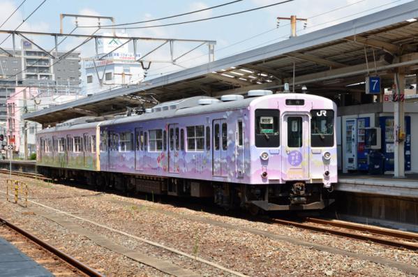 105系電車 「万葉の四季 彩」