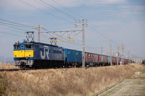 3363レ EF65 1059牽引 (2008年3月9日)