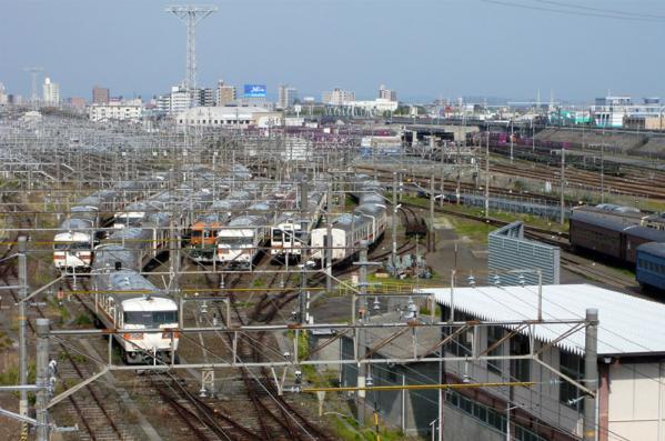 浜松運輸区解体待ち車両