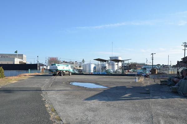 天竜川駅日通専用線跡