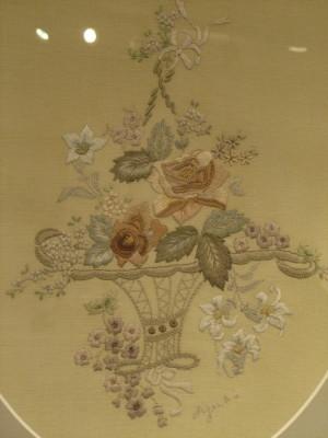 刺繍額20001