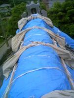 屋根応急処置