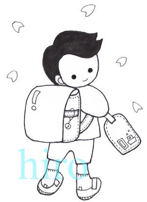 入学式男の子