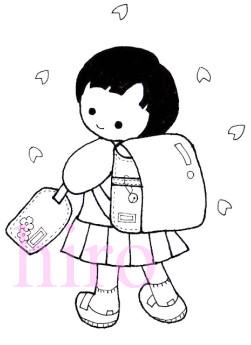入学式女の子