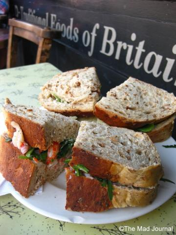 english sandwich