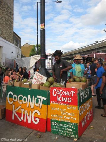 coconuts juice