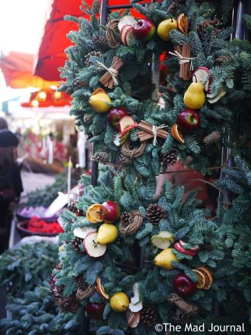christmas flower market