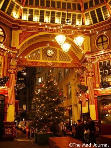Leadenhall market tree