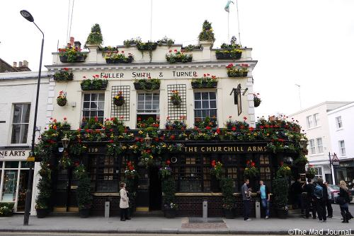 Charchill arms