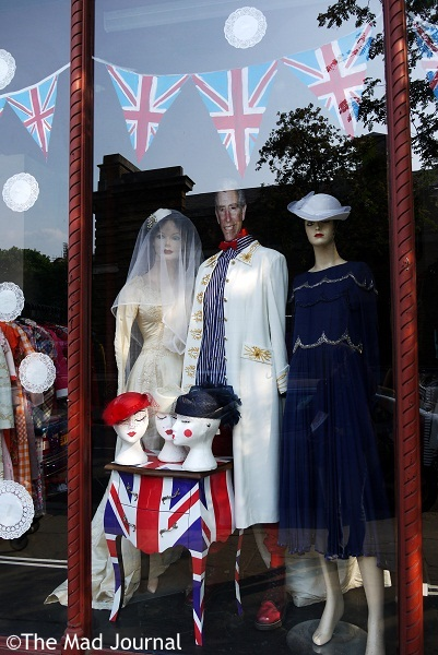 vintage shop royal wedding