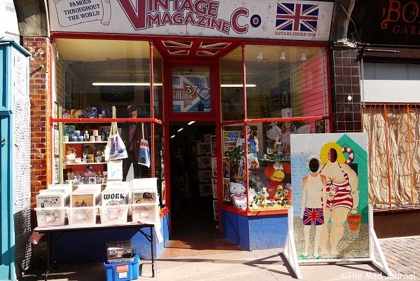 colorful vintage shop