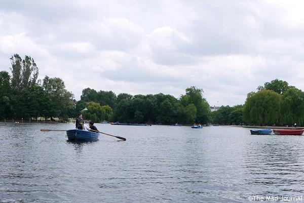 pond n boat