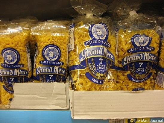 alsace pasta