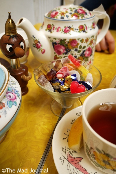 afternoon tea sweets