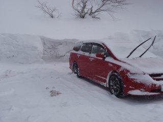 s凍った車