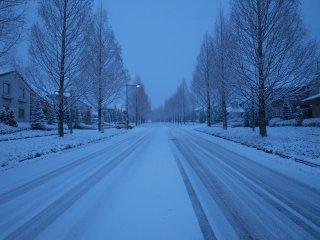s雪の降る街1