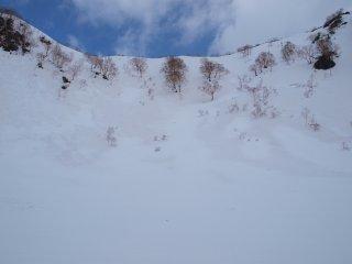 s11外輪山の壁