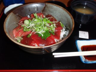 s大間マグロ丼2