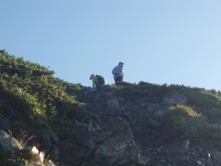 s空身の登山者2