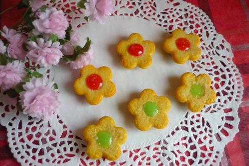 花クッキー