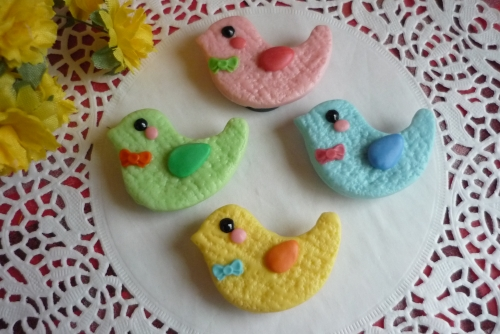 鳥クッキー