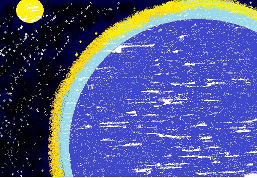 太陽と月と星と私