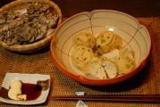 舞茸&貝柱のふわふわガンモ