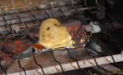 舞茸&貝柱のふわふわガンモオーブン
