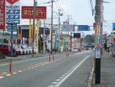 福岡と熊本の県境付近