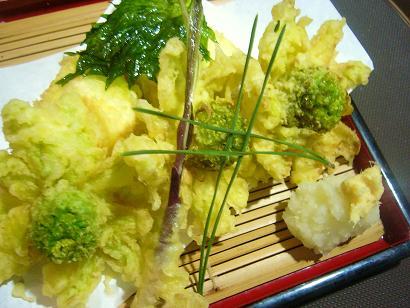 湯葉豆腐とふきのとう (2)