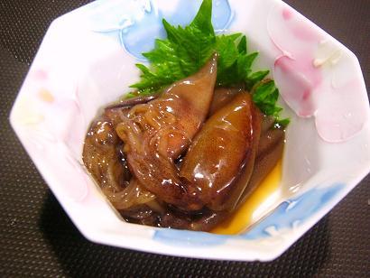 ホタルイカ京漬け (2)