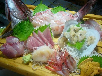 大漁盛り小