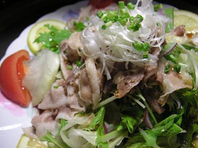 黒豚サラダ7