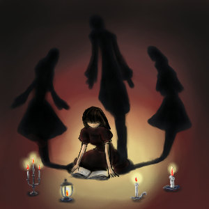 屋根裏の少女