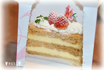 チビとこ大好きなケーキ♪