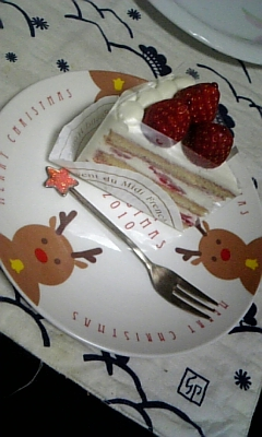 問題のケーキ